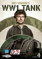 Guy Martin's WW1 Tank DVD (2018) Neil Duncanson cert E ***NEW*** Amazing Value