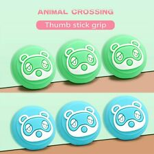 4PCS Thumb Grips Cap Cover for Animal Crossing Switch Joycon Joystick Console