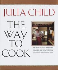 Juiia Child THE WAY TO COOK hardcover book (1989) - Signed (personalized)