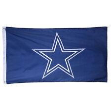 "Dallas Cowboys Authentic Team Flag 3x5 Indoor Outdoor 3""x5"" Banner Hologram"