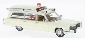 NEO 1/43 1966 Cadillac S&S Ambulance White RESIN REPLICA 43895