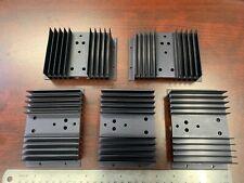 *5-Pcs Lot 122mm x 82mm x 32mm Aluminum Heat Sinks To-3 Transistor