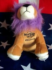 HRC Hard Rock Hotel Singapore Punk Lion 2010 LE Made by Herrington NWT