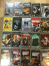 PSP UMD Movies films bundle joblot 20 all new & sealed RRP £50+   (box 151)