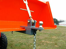 Trailer Hitch For Loader Bucket With Hitch Ball