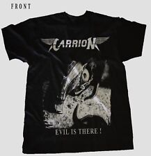 CARRION-Evil Is There!- Rock-Art of Illusion, BLACK T-shirt sizes: S to 7XL
