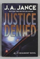JUSTICE DENIED by J.A. Jance, NY Times Bestselling Author