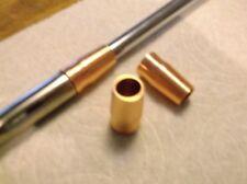 1ea Golf Iron Ferrules Metal Custom Copper 14.5g, .355/370 Shafts, Made in USA
