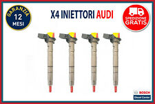 Set Iniettori common rail Bosch per Audi A3 A4 A5 A6 Q5 TT 0445116030 03L130277