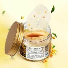 80pcs Bottle Gold Osmanthus Eye Mask Nourish Moisturizing Gentle Skin Care Women