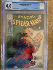 Amazing Spider-man 69 CGC 4.0