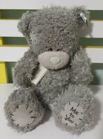 ME TO YOU TEDDY BEAR 21CM GREY BEAR BLUE NOSE~!