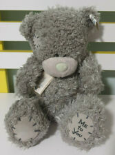 ME TO YOU TEDDY BEAR 21CM GREY BEAR BLUE NOSE~!