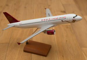 Juneyao Airlines Airbus A320 1/100 scale model