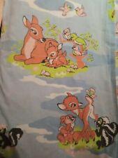 Drap plat Disney Vintage ( disney no cti ) bambi