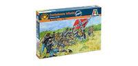 1/72 Civil War Confederate Infantry Soldiers Figures Italeri 6178
