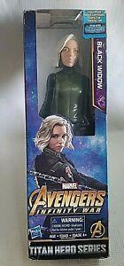 "Marvel BLACK WIDOW Avengers Infinity War 11"" Action Figure Titan Hero Series NIB"