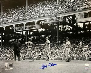Braves HANK HENRY AARON Signed 16x20 Photo #19 AUTO - HOF - MVP - 57 Champ - JSA