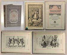 Czerwinski Brevier der Tanzkunst 1879 Tänze Kulturvölker Verlag Spamer EA xz