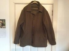 Timberland mens wool-mix brown jacket size L (see listing)