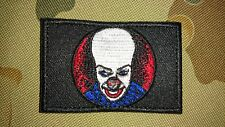 NEW PENNYWISE IT MOVIE CLOWN SCARY TACTICAL MORALE AIRSOFT PATCH AUSTRALIA AUS