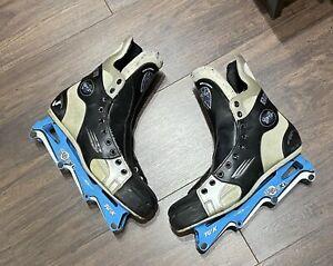 VTG Bauer Vapor XL Inline Skates/Rollerblades - Men's Size 10-EE *SHIPS FREE*
