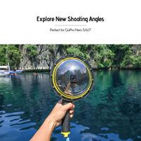 For GoPro Hero 8 Diving Lens Cover  TELESIN Dome Port Underwater Camera Shell