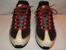 NIKE Air Max 95 2009 Mens Hot Red Grey black 609048-065 OG, Size: 8 (110)