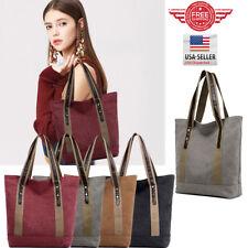 YOLANDO Women CANVAS Bags Handbag Shoulder Hobo Purse Messenger Tote Bag T0043