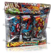 Marvel Comics Gift Set,Shave Gel,Body Wash,Balm, X-Men,Captain America,Iron Man