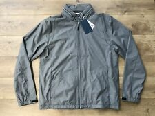 Cutter & Buck LS Panoramic Packable Golf Jacket Gray WeatherTec SZ L (MCO00023)