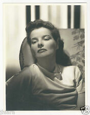 VERY RARE 10x13 RADIANT SULTRY KATHERINE HEPBURN CLARENCE SINCLAIR BULL PHOTO