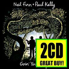 NEIL FINN & PAUL KELLY (2 CD) LIVE : GOIN' YOUR WAY ( CROWDED HOUSE ) *NEW*