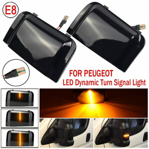 LED Dynamic Turn Signal Light Blinker Indicator for Peugeot Boxer Fiat Ducato