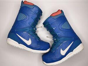 Nike SB Kaiju Men's Snowboarding Boots - Blue / White - US9.5 / EUR43 - Rare