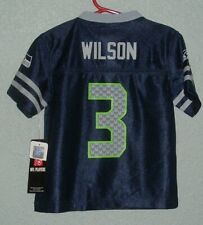 SEATTLE SEAHAWKS #3 RUSSELL WILSON NFL PLAYERS JERSEY CHILDRENS 2T - NWT