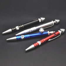 Ball-point Pen Pipe Metal Smoking Pipe Aluminum Smoke Accessory Secret Pipe