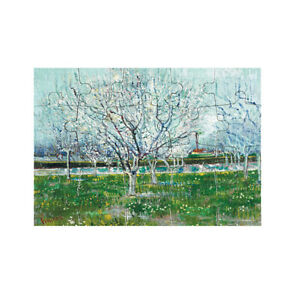 Postcard size jigsaw puzzle – Orchard in Blossom by Vincent van Gogh ONLY 99p