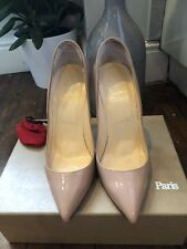 31bdb648d32 Christian Louboutin Nude Pigalle 120 Size 38.5 GENUINE with Receipt