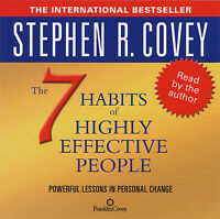 The 7 Habits Of Highly Effective People: Stephen Covey Audiobook 1CD Abridged