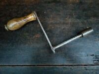 Collectable Vintage Bedstead Spanner with Walnut Handle