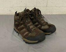 Khombu Terrain 864673 Waterproof Brown Suede Hiking Boots US Men's 12 GREAT