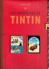 RECUEIL TINTIN--L'ILE NOIRE + TINTIN AU PAYS DE L'OR NOIR--Editions de NOYELLES