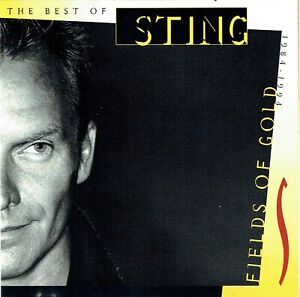 (CD) Sting – Fields Of Gold: The Best Of Sting 1984 - 1994 - All This Time,u.a.