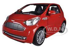 ASTON MARTIN CYGNET RED 1/24 DIECAST MODEL CAR BY WELLY 24028