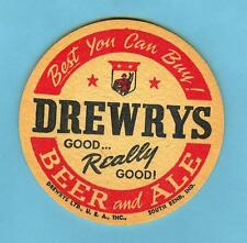 3-1/2 INCH DREWRY'S COASTER * GOOD..Really Good . Best you can buy-South Bend,IN