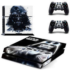 Black Star War Decal Cover Skin Joker Sticker For Ps4 with 2 Controller Cover US