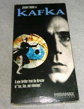 Kafka Vhs 1991 Miramax Paramount Jeremy Irons Joel Grey Steven Soderbergh Tested