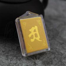Collar Buda de latón nuevo Collier señores cadena talismán budismo cadena de oro