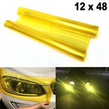 Tint Vinyl Film Overlay Wrap Sheet Sticker for Headlight Fog Lamp Tail Light